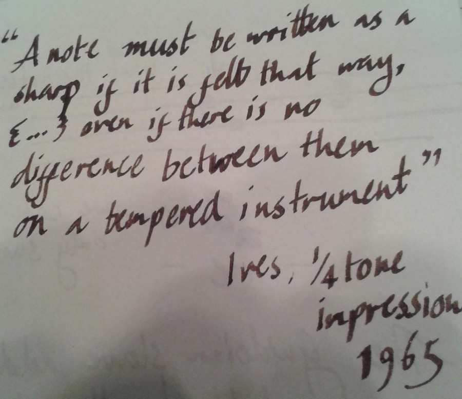 Ives Quote